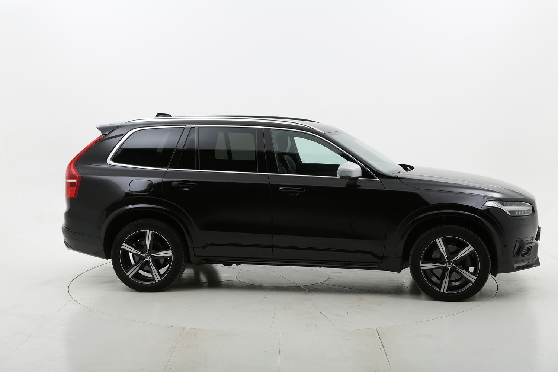 Volvo XC90 ibrido diesel nera a noleggio a lungo termine
