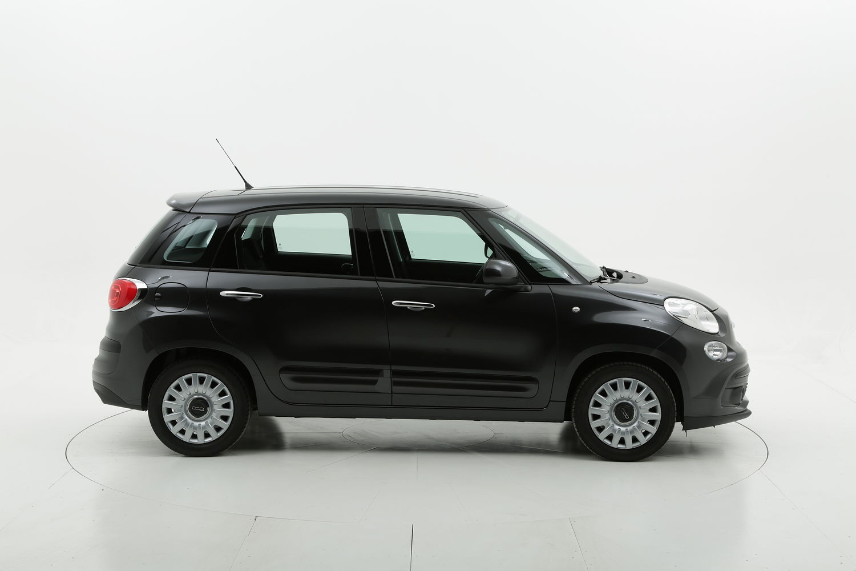 Fiat 500L benzina nera a noleggio a lungo termine