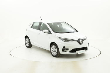 Renault ZOE Zen elettrico bianca a noleggio a lungo termine