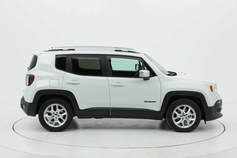 Jeep Renegade diesel bianca a noleggio a lungo termine