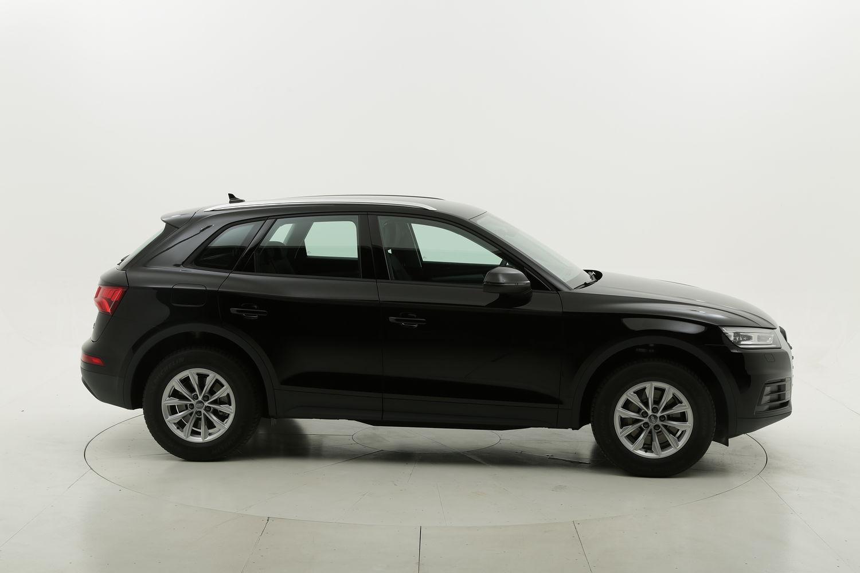 Audi Q5 diesel nera a noleggio a lungo termine