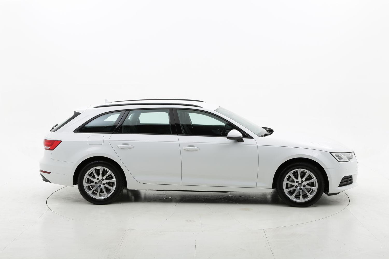 Audi A4 metano bianca a noleggio a lungo termine