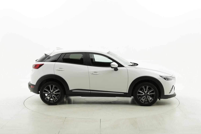 Mazda CX-3 diesel bianca a noleggio a lungo termine