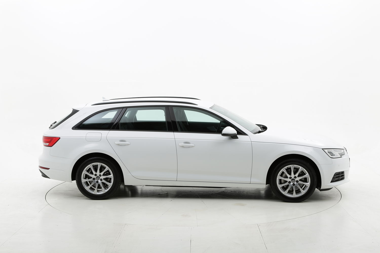 Audi A4 diesel bianca a noleggio a lungo termine