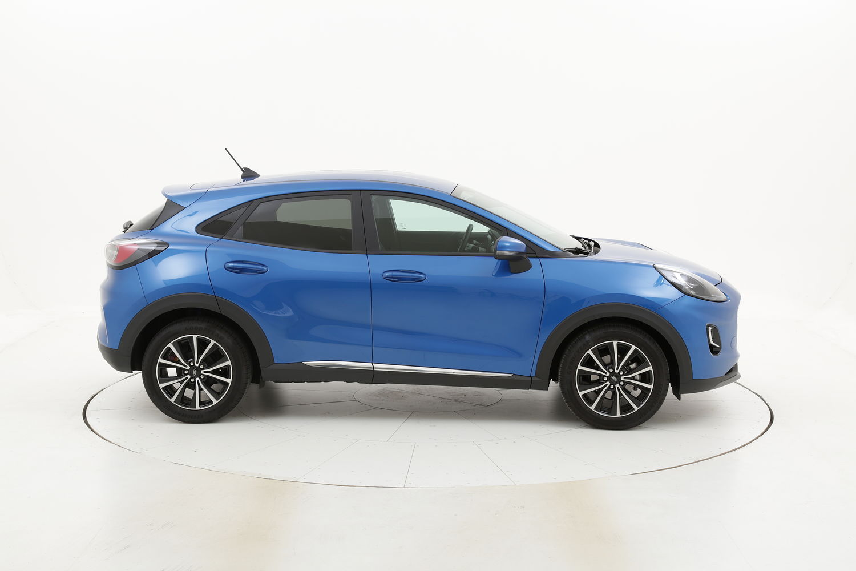 Ford Puma ST-Line ibrido benzina azzurra a noleggio a lungo termine