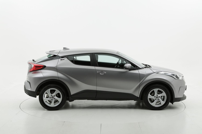Toyota C-HR ibrido benzina argento a noleggio a lungo termine