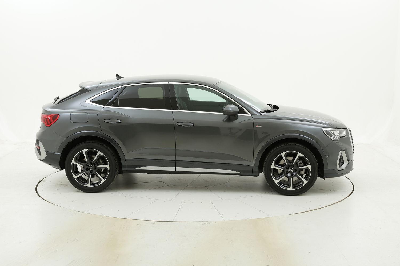 Audi Q3 diesel antracite a noleggio a lungo termine