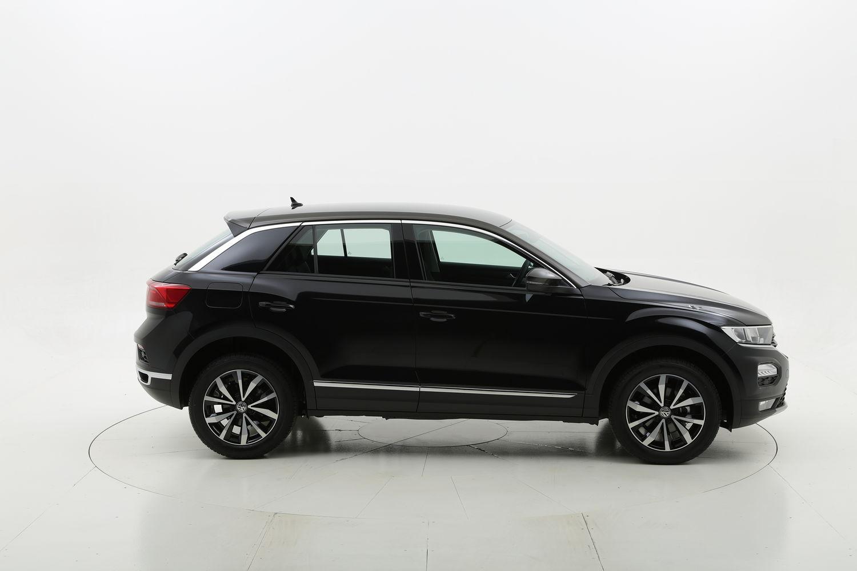 Volkswagen T-Roc benzina nera a noleggio a lungo termine