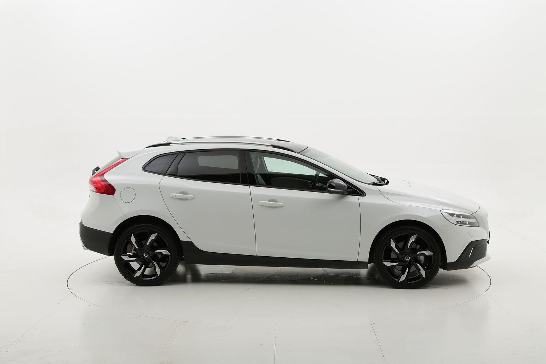 Volvo V40 benzina bianca a noleggio a lungo termine