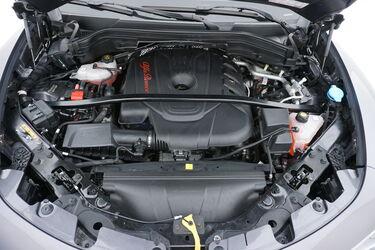 Vano motore di Alfa Romeo Stelvio