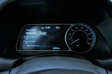 Interni di Nissan Leaf