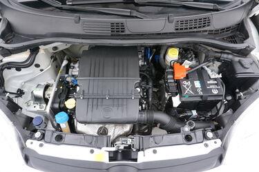 Vano motore di Fiat Panda