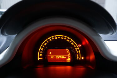 Interni di Renault Twingo