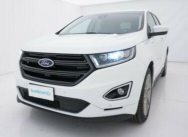 Visione frontale di Ford Edge