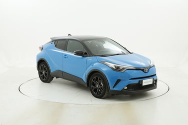 Toyota C-HR Hybrid Style - Blu Cyan & Black usata del 2018 con 12.436 km