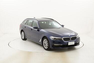 BMW Serie 5 520d Touring Business Aut. usata del 2018 con 82.127 km