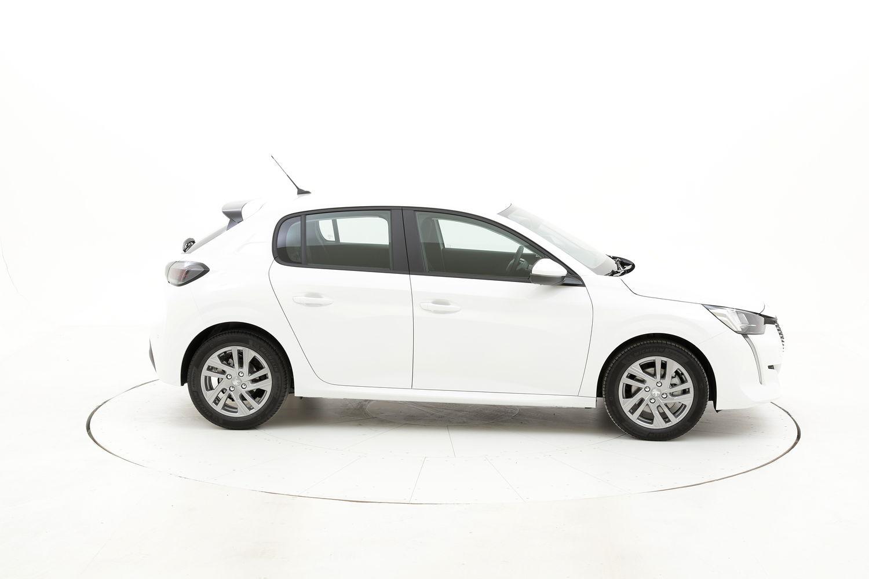 Peugeot 208 Active Pack elettrico bianca a noleggio a lungo termine