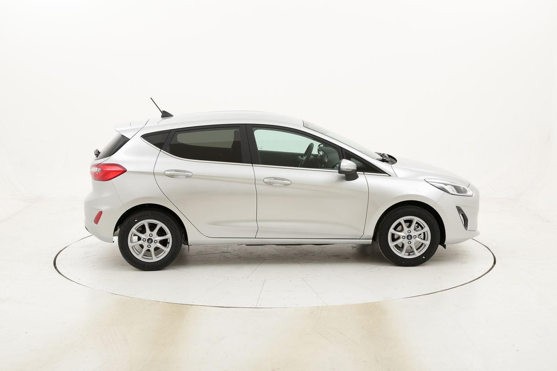 Ford Fiesta Titanium benzina argento a noleggio a lungo termine