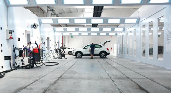 Igienizzazione dell'auto