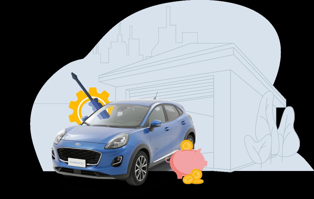 Prendi l'auto solo quando è necessario